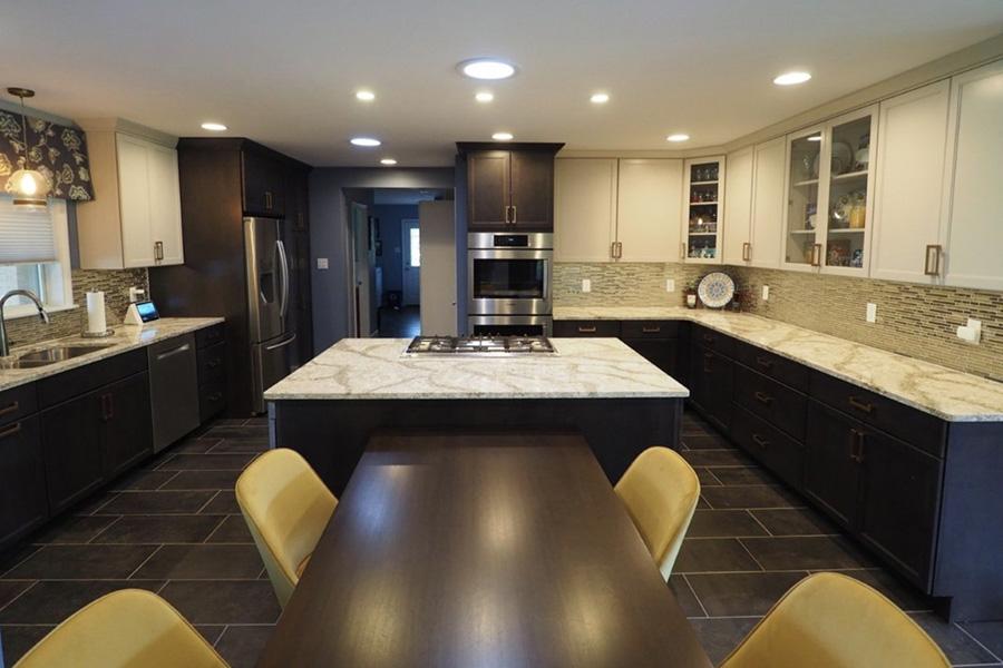 Henry Kitchen With Dark Tile