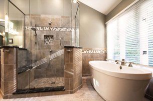 Contemporary Neutral Bath