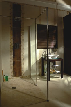 Solve Water Retention U0026 Moisture Problems Common In Traditional Barrier  Free Showers