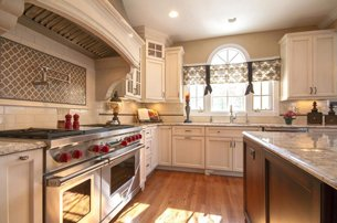 Traditional Open Kitchen
