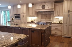 Neutral Dual Island Kitchen