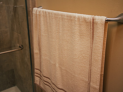 Warm Bathroom Towel Bar