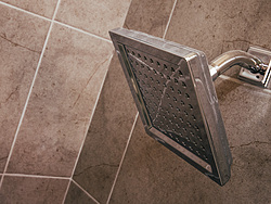 Neutral Bathroom Square Shower Head