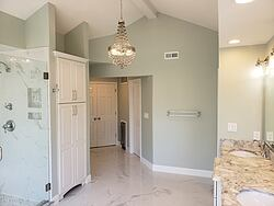Chesterfield Marble Master Bath