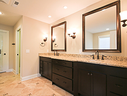 Gallery Bathroom - Dual Sinks