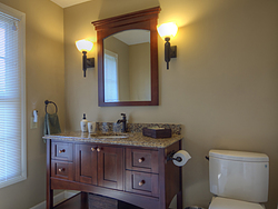 Large Master Bathroom - Sink