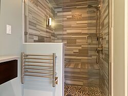 Asian Bathroom - Shower Design