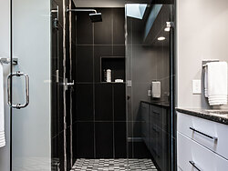 Modern Bathroom - Shower Details