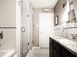 Contemporary Master Bath - Small Bathroom Design