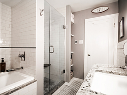 Contemporary Master Bath - Tile