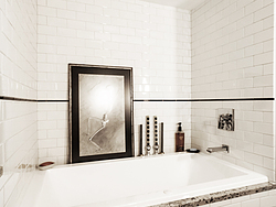 Contemporary Master Bath - Bathtub