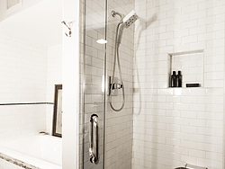 Contemporary Master Bath - Shower