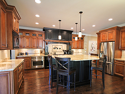 Traditional Two-Tone Kitchen - Cabinets