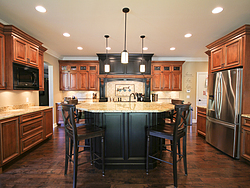 Traditional Two-Tone Kitchen - Warm Kitchen Design