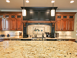Traditional Two-Tone Kitchen - Kitchen Countertop