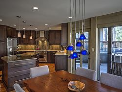 Contemporary Transitional Kitchen - Pendant Lights