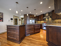 Contemporary Transitional Kitchen - Island Cabinets
