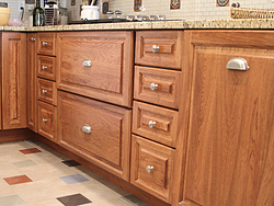 Midwest Kitchen With Unique Accents - Drawer Pulls