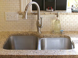 Midwest Kitchen With Unique Accents - Faucet