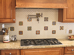 Midwest Kitchen With Unique Accents - Kitchen Backsplash
