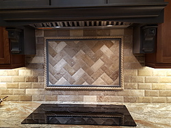 Two-Tone Kitchen - Tile Details