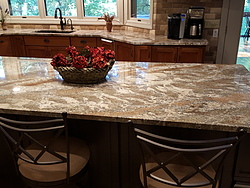 Two-Tone Kitchen - Island Countertop