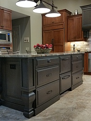 Two-Tone Kitchen - Island Cabinets