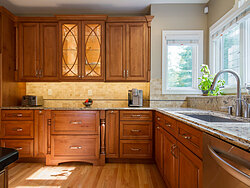 Kitchen 7 By Sue McCann - Warm Kitchen Cabinet Design