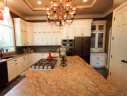Large Kitchen with Functional Island - Kitchen Island Countertop