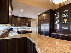 Henry Kitchen Design Team - Island Countertop