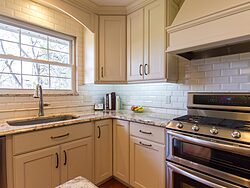 Full Length Kitchen Cabinets - Corner Cabinets