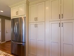 Full Length Kitchen Cabinets - Pantry