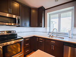 Contemporary Kitchen With Shaker Cabinets - Cabinet Design