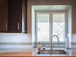 Contemporary Kitchen With Shaker Cabinets - Kitchen Faucet
