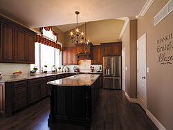 Traditional Kitchen With Center Island Remodeling