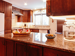 Contemporary Cherry Kitchen