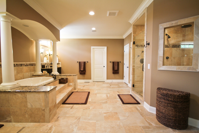 Henry Bathroom Design Master Bathroom Columns
