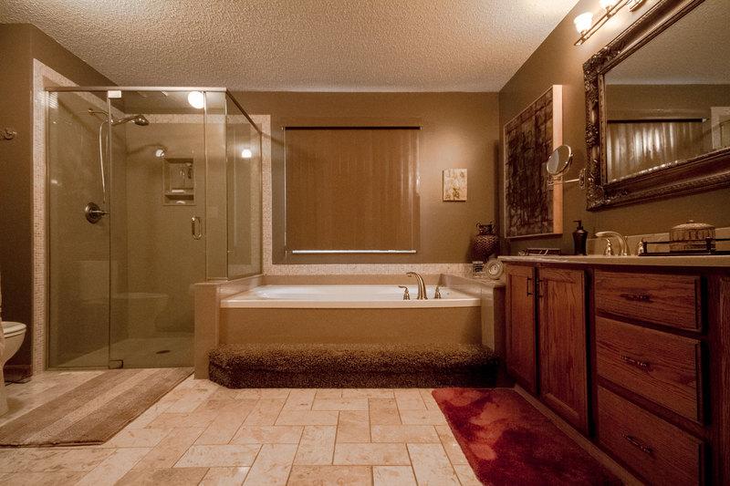 Henry Bathroom Design Warm Bathroom Amp Glass Shower