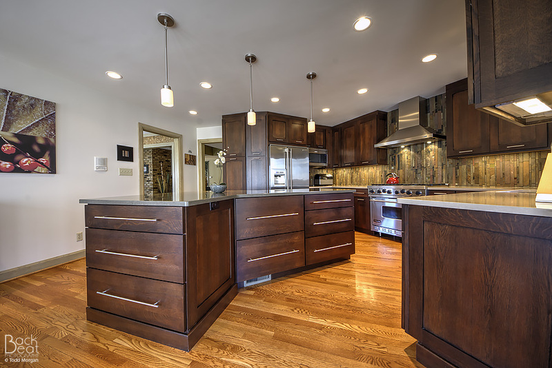 Henry Contemporary Transitional Kitchen Design