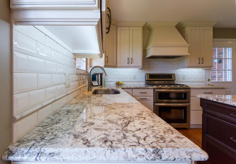 Charming Full Length Kitchen Cabinets   Countertop
