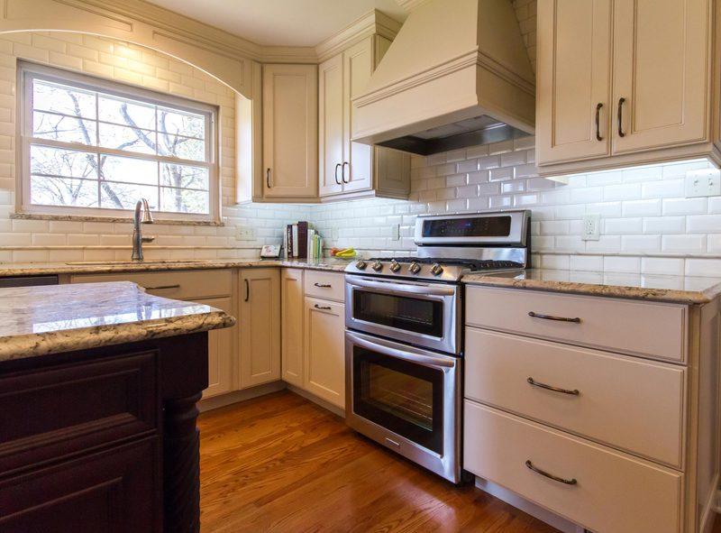 Full Length Kitchen Cabinets   Oven Design