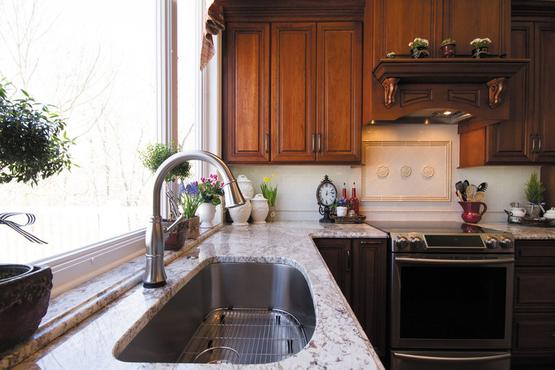 Henry Traditional Kitchen Remodel With Center Island